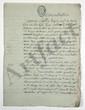 Trophime-Gérard de LALLY-TOLENDAL. Environ 40 lettres ou pièces, autographes (ou en partie autographes) de LALLY-TOLENDAL, à lui adressées ou le concernant, plus 4 imprimés, 1776-1823 ; plus de 80 pages manuscrites en français et en anglais (qqs