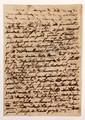 Trophime-Gérard de LALLY-TOLENDAL. 111 L.A. et une P.A.S., 1792-1822, à la princesse d'HENIN ; environ 350 pages formats divers, la plupart avec adresse (7 lettres incomplètes, déchirures avec manques à qqs lettres).