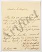 Charles de PEYRONNET (1778-1854) homme politique et ministre. 7 L.A.S., Paris 1822-1826, au marquis de LALLY-TOLENDAL, avec une L.A. (minute) de LALLY-TOLENDAL à Peyronnet ; 14 pages in-4 ou in-8.