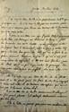 Félicité de LAMENNAIS. L.A., Genève 30 mai 1824, [à son frère, l'abbé Jean-Marie de LAMENNAIS] ; 5 pages in-8.