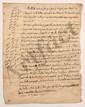 Charles de Secondat, baron de La Brède et de MONTESQUIEU. Minute de 2 lettres par un secrétaire avec ADDITIONS autographes, Paris 3 août 1735 ; 2 pages in-4 (feuillet un peu froissé). [CM 431 et 432]