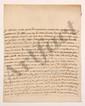 Marie-Anne Goyon de Matignon, Madame de GRAVE (1697-1738) fille du maréchal de Matignon, elle fut la maîtresse de Montesquieu. L.A., Montpellier 21 mai 1736, à MONTESQUIEU à Paris ; 3 pages in-4, adresse avec cachet cire rouge aux armes (brisé). [CM