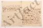 Charles de Secondat, baron de La Brède et de MONTESQUIEU. L.A. (minute), Paris 19 juin 1737, à François de BULKELEY à Londres ; 3 pages et demie in-4. [CM 472]