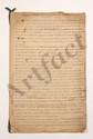 Thomas-Arthur de LALLY-TOLENDAL. MANUSCRIT autographe, Vraÿes causes de la perte de l'Inde, [1766] ; cahier de 12 pages grand in-fol., lié d'un ruban bleu (petite mouill. avec légères effrangeures en haut des feuillets.