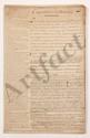 Thomas-Arthur de LALLY-TOLENDAL. 6 MANUSCRITS dont 2 avec additions et corrections autographes, Capitulation de Pondichéry, etc., [1766] ; 104 pages grand in-fol. ou in-fol., plus 10 pages intercalaires formats divers, sous chemise titrée