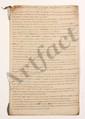 Thomas-Arthur de LALLY-TOLENDAL. MANUSCRIT autographe et sa copie avec additions autographes, Tableau historique de toute l'expedition de l'Inde, avec 3 MANUSCRITS joints, [1766] ; 155 pages grand in-fol. en 5 cahiers liés de rubans bleus, sous