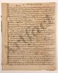 [VOLTAIRE]. Copie autographe par son secrétaire Jean-Louis WAGNIERE (1739-1802) d'une lettre adressée à VOLTAIRE par M. de BOURCET, Pondichéry 1er février 1776 ; cahier de 9 pages in-4.