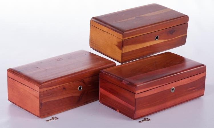 Lane Sample Size Cedar Chests Trio
