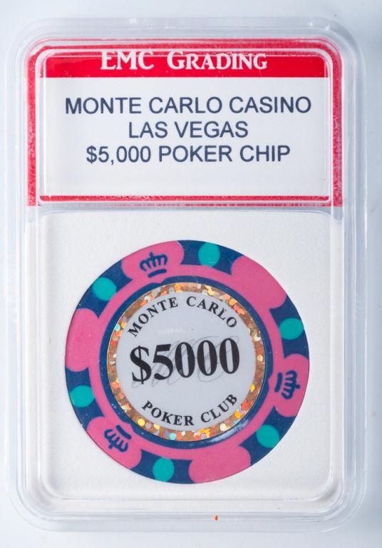 monte carlo casino las vegas $10 000 poker chip