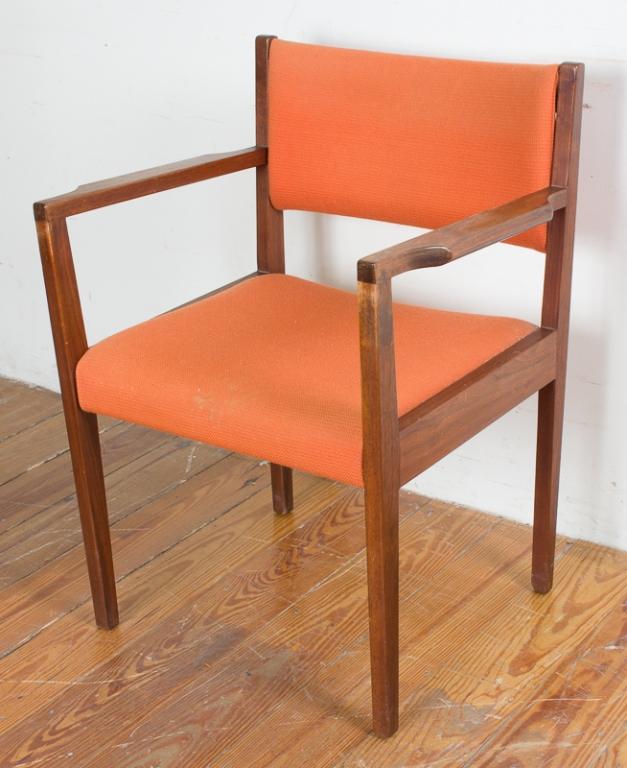Jens risom teak armchair for Furniture auctions uk