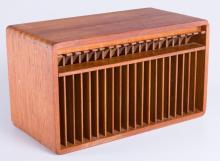 Teak Wood CD Holder / Organizer