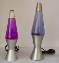 Vintage Lava Lamp Pair