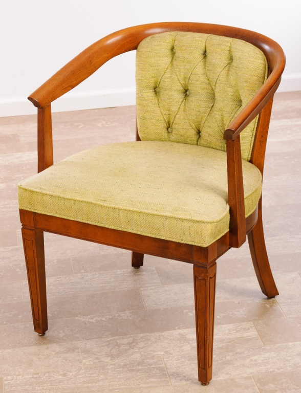 Shelby Williams Industries Barrel Back Chair