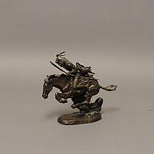 Franklin Mint Remington Bronze