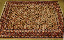 An Old Room-size Persian Rug,