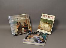 Three(3) Coffee Table Art Books,