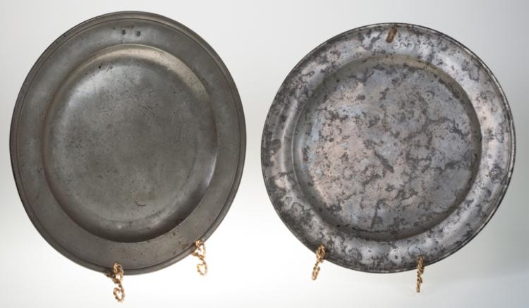 English Pewter Chargers, 18th / 19th C