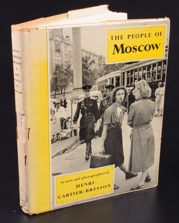 Henri Cartier- Bresson The People of Moscow Book