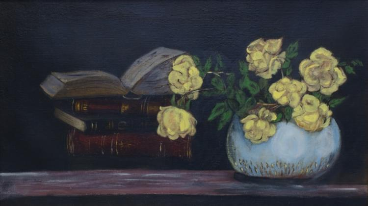 Oil on Canvas Still Life Painting