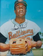 Frank Robinson Autographed Photo, W/ COA