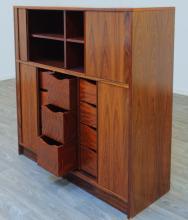 Tambour Door Dresser