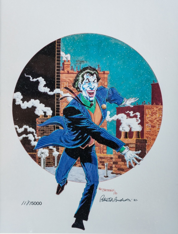 Pat Broderick Joker Print 118 5000 1990