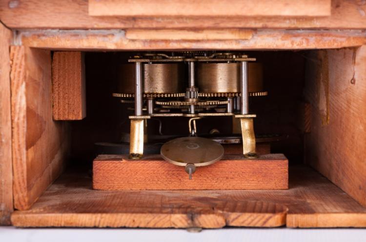 Ansonia Wood Cased Mantle Clock