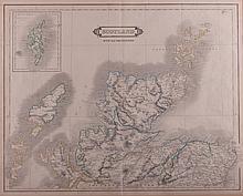 Map of Northern Scotland Print