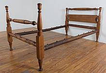 Maple Rope Bed, Circa 1840 - 1860