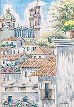 Gerardo Watercolor of a Village