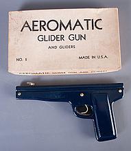 Aeromatic Glider Gun No. 5, Circa 1950s, W/Box