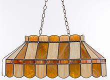 Stained Glass Game Room / Bar Light Fixture