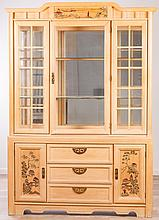 Broyhill Chinoiserie China Cabinet, Mid-20th C