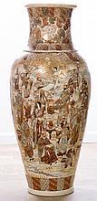 Satsuma Vase, Monumental Size