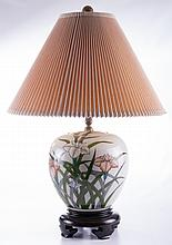 Porcelain Ginger Jar Table Lamp
