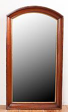 Walnut Framed Wall Mirror Circa 19th Century