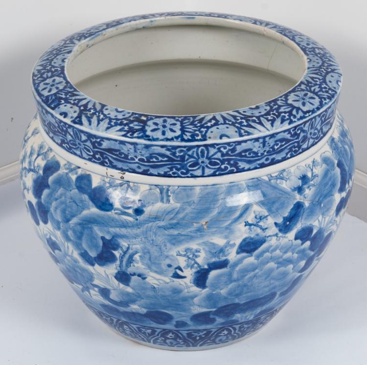 Chinese fish bowl 19th century for Chinese fish bowl