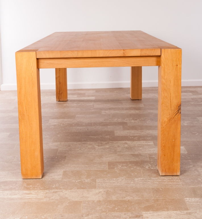 Yask Ylifanti Solid Oak Dining Table : H5901 L121970735 from www.invaluable.co.uk size 711 x 768 jpeg 192kB