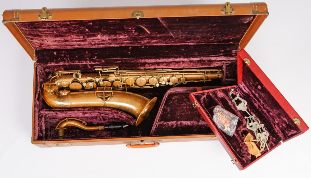 """The Buescher"" True Tone C Melody #51199 Saxophone"