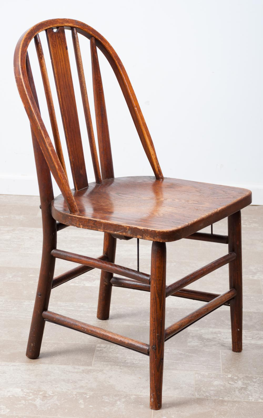 Marietta Chair Co. Oak Windsor Chair