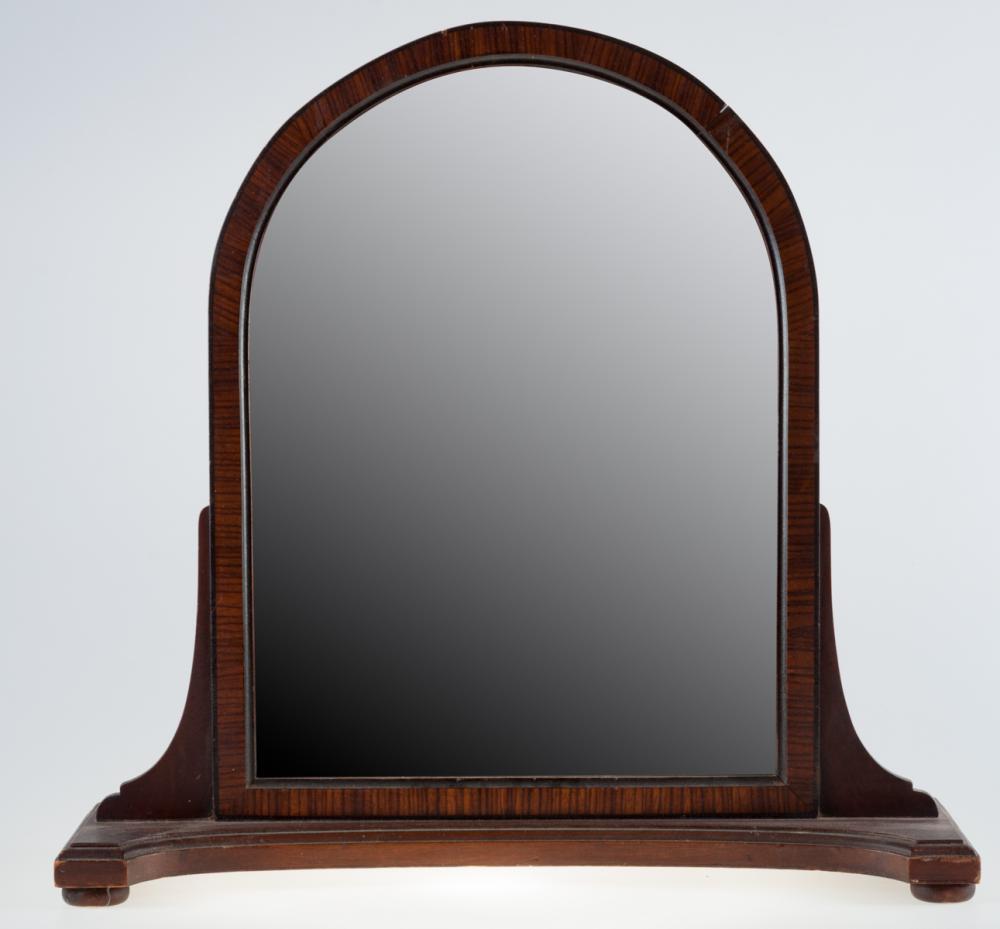 Mahogany Frame Dressing Mirror
