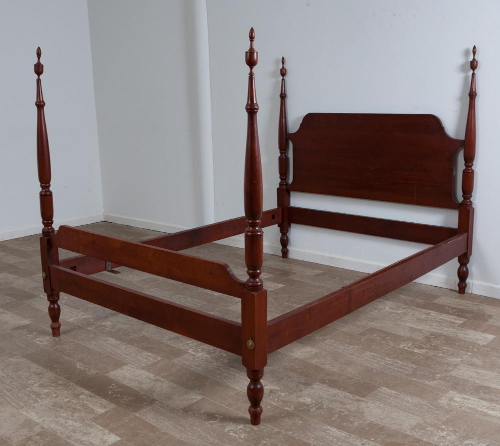 Mahogany Four Post Full Size Bed