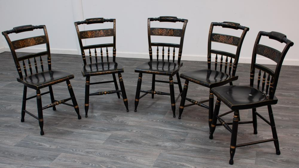 Hitchcock Side Chairs Group