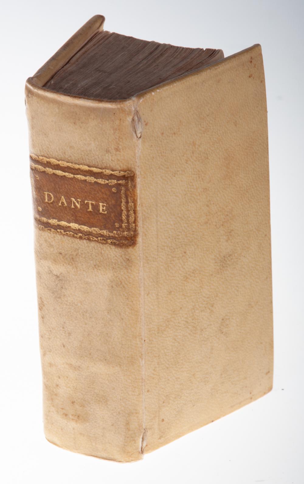 "Dante 1629 ""La Divina Comedia"", N. Misserini Pub."