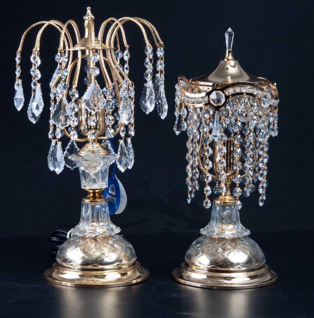 Swarovski Spectra Crystal Table Lamps