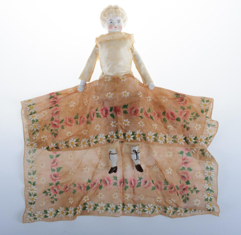 China Head Doll Circa 19 C