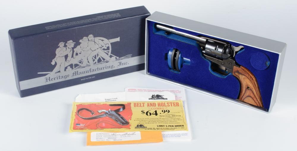 Heritage RR22B4 Rough Rider Single Action 22 LR