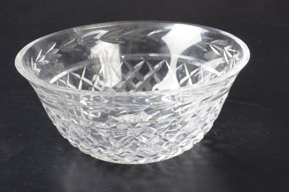 "Waterford Crystal ""Glandore"" Bowl"