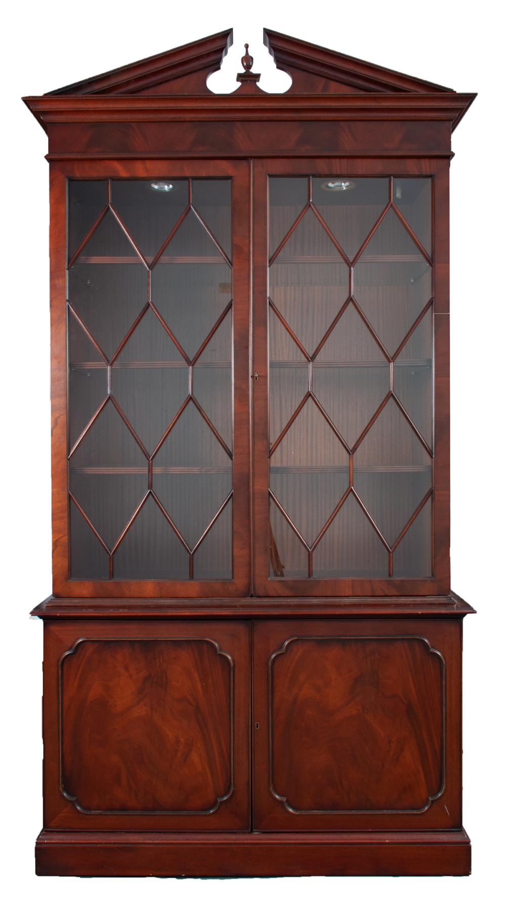 Southhampton Mahogany China Hutch