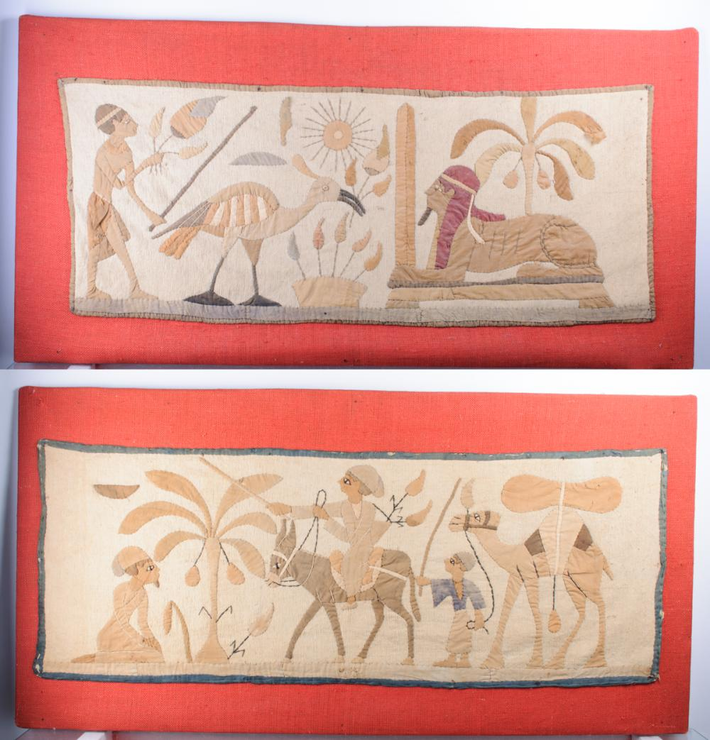 Egyptian Motif Tapestries
